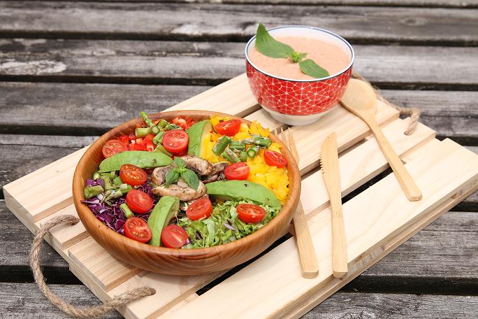 salad bowl du jardin