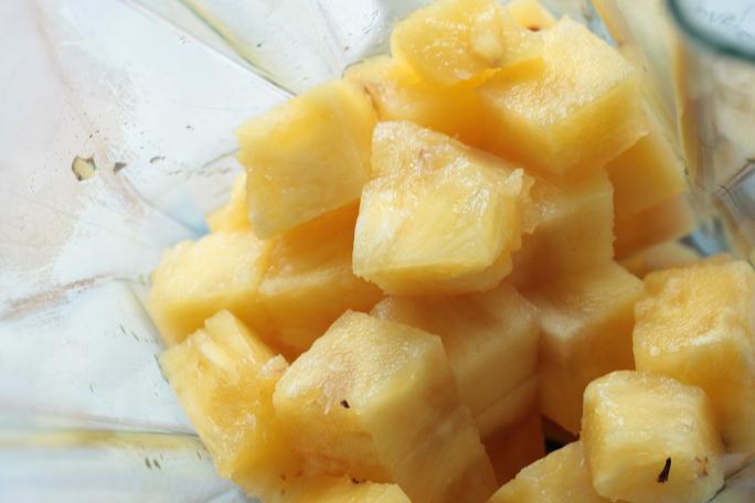 smoothie ananas framboise