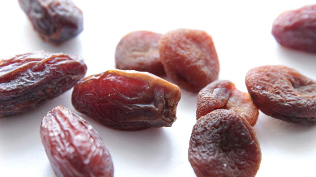 Dattes abricots secs