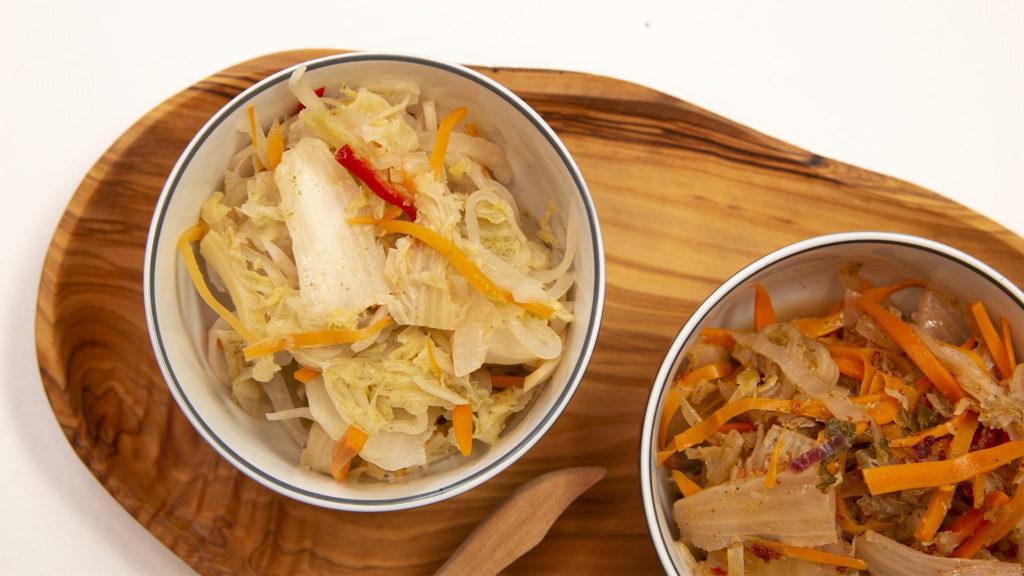 Kimchi sans piment